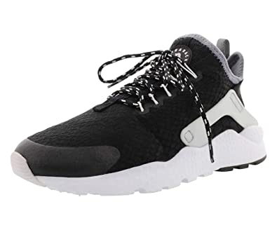 291a14fed18b7 Nike Women's Sneaker Air Huarache Ultra Se in Black and Grey Fabric  37,5(EU)-6½(US) Black