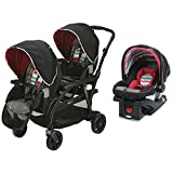 Graco Travel System Modes Duo Stroller & SnugRide Click Connect Infant Car Seat