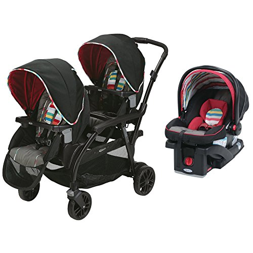 Image Of The Graco Travel System Modes Duo Stroller SnugRide Click Connect Infant Car Seat