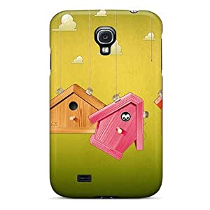 Hot Tpye 3d Birdhouses Cases Covers For Galaxy S4