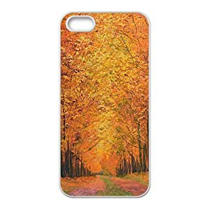 good Autunm Forest maple tree trail cell phone case cover yda982DBpQi for iPhone 4s