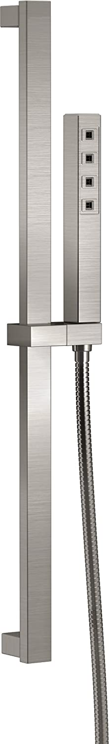 Delta Faucet Delta 51567-SS Ara Slide Bar Hand Shower with H2Okinetic, Stainless well-wreapped