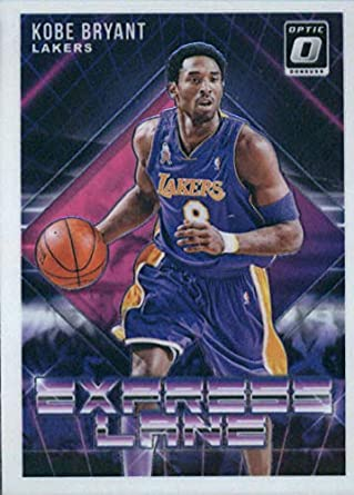 40876924024 2018-19 Donruss Optic Express Lane  5 Kobe Bryant Los Angeles Lakers  Basketball Card