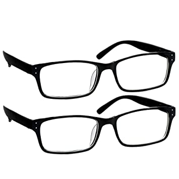 faa74cc4490 Black Computer Reading Glasses 3.25 Protect Your Eyes Against Eye Strain