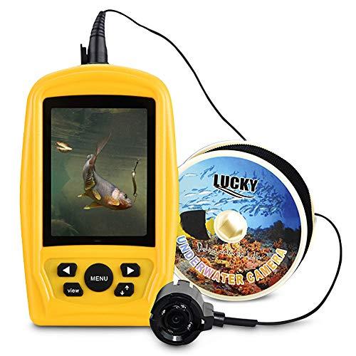 (Dayangiii Portable Underwater Camera, Fishing Inspection System CMD Sensor 3.5 inch TFT RGB Waterproof Monitor 20M Cable)
