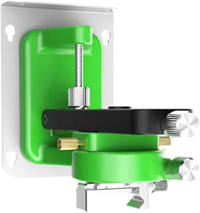 universal Montado en la pared Soporte de pared con im/án 360/º ajuste de nivel giratorio para nivel l/áser
