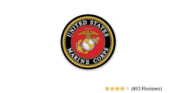 USMC Marine Corps Parris Island  Vintage Style Travel Decal sticker Marines  SC