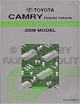 2008 Toyota Camry Hybrid Wiring Diagram Manual Original: Toyota:  Amazon.com: BooksAmazon.com