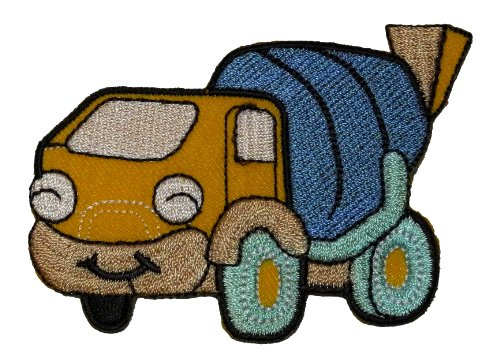 cartoon-concrete-mixer-truck-diy-applique-embroidered-sew-iron-on-patch-cmt-01