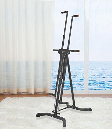 Vertical Climber Cardio Exercise Total Body Workout Climber Machine,FEIERDUN Folding Climbing Machine for Home GYM Step Climber Exercise Machine