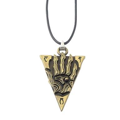 Amazon.com: Moniku Akatosh Amulet Key Bronze: Clothing
