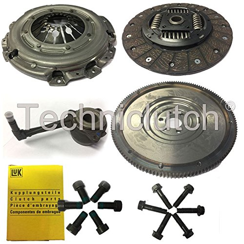 NATIONWIDE CLUTCH DISC DRIVEN PLATE AND PRESSURE PLATE AND FLYWHEEL WITH CSC INCLUDING BOLTS FOR CLUTCH KIT AND LUK BOLTS FOR FLYWHEEL 8944819343847: