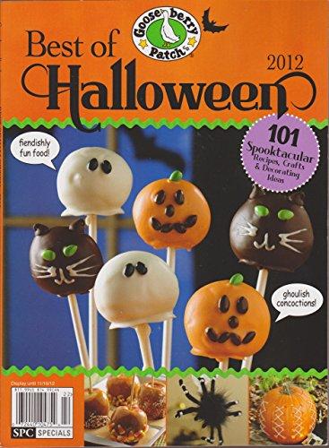 Gooseberry Patch Best of Halloween Magazine 2012 ()