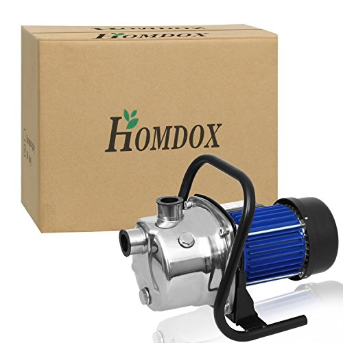 Homdox 1 6hp Booster Pump Stainless Shallow Well Pump Lawn