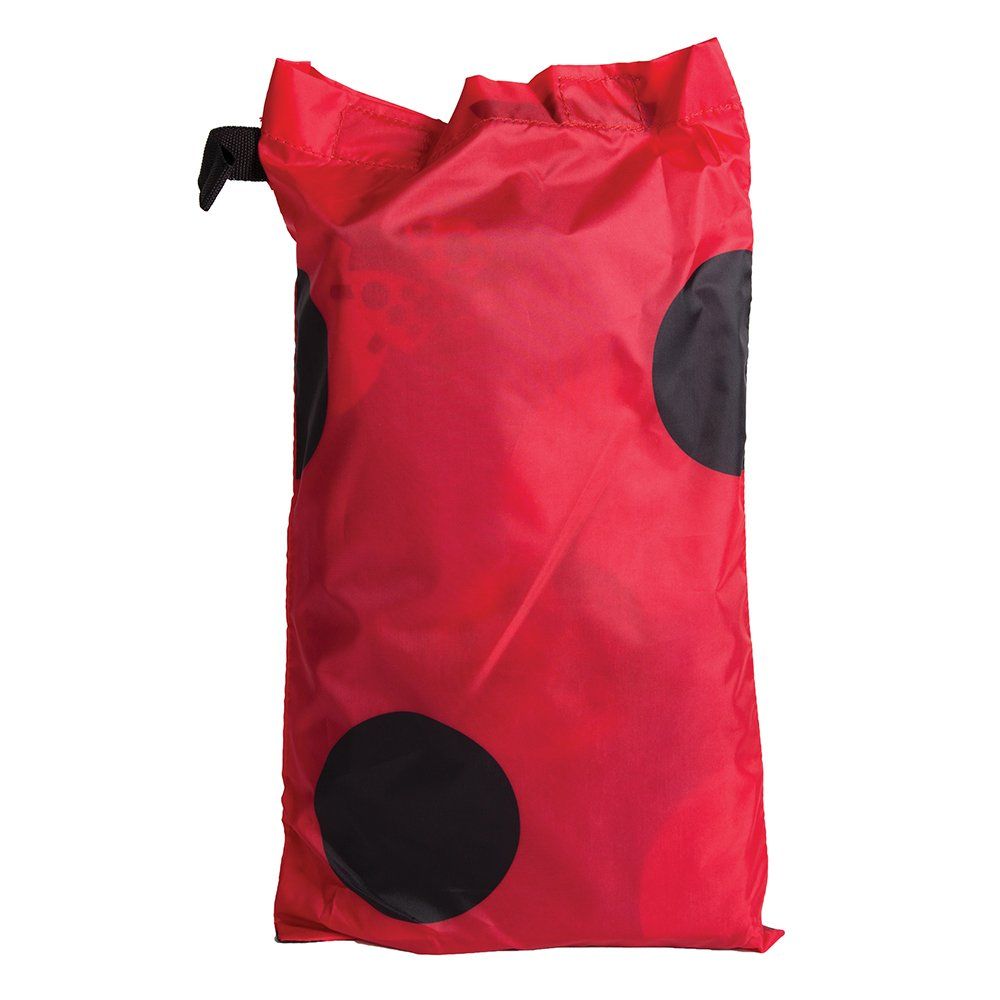 Pacific Play Tents Kids Lady Bug 8-Foot Parachute with handles & Carry Bag for Indoor/Outdoor Fun by Pacific Play Tents (Image #2)