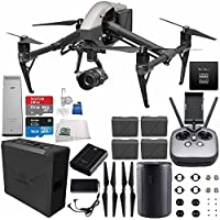 DJI Inspire 2 Premium Combo with Zenmuse X5S and CinemaDNG and Apple ProRes Licenses Videographer 240G Ultimate Bundle