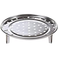 Round Stainless Steel Rack Inch Diameter Steaming Rack Stand Canner Canning Racks Steamer Stock Pot Steaming Tray…