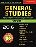 General Studies Paper I for Civil Services Preliminary Examination (2016)