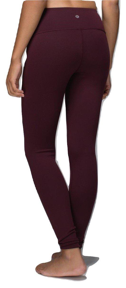 Lululemon Wunder Under Pant III Yoga Pants (Bordeaux, 10) by Lululemon (Image #1)