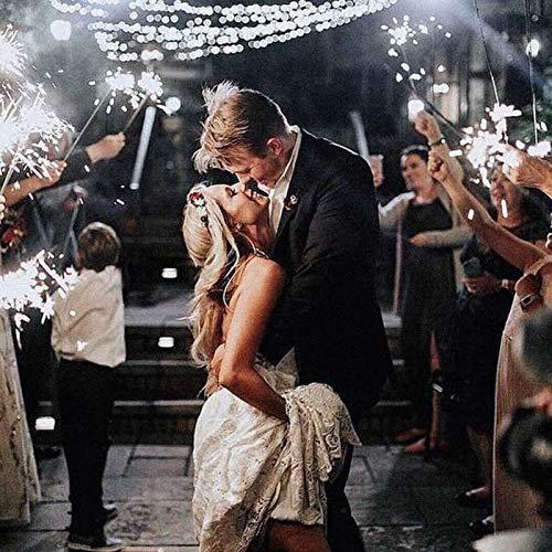 20-Inch Wedding Send Offs Grand Exit Bride Groom Celebration (40 Pieces, 20 inch)