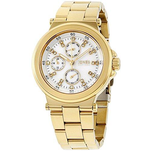 Jones New York Collection Womens Rose Gold Analog Watch