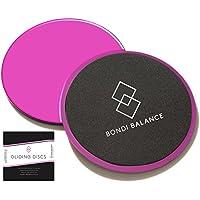 Bondi Balance Sliders Fitness Discs Hot Pink - Dual Sided...