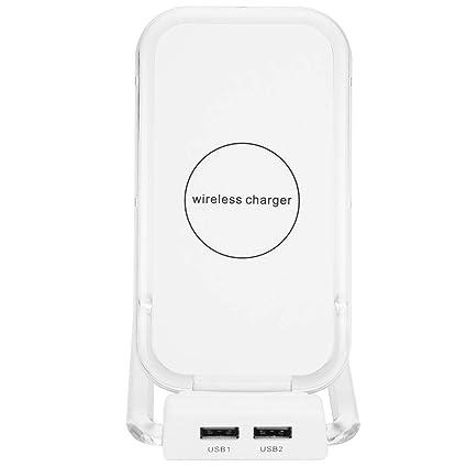 Amazon com: Winner666 Vertical Three-Coil Dual USB Wireless QI Fast