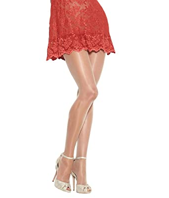 53ef81b26 HUE So Silky Sheer Tights - Natural at Amazon Women s Clothing store