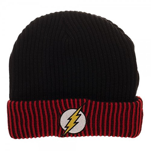 The Flash Logo Soft Winter Knit Beanie Hat -