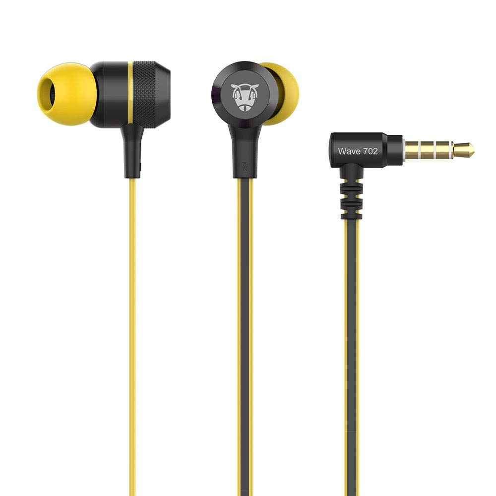 Ant Audio Wave 702 in -Ear Extra Heavy Bass Headphone with