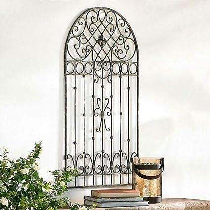 Amazon Com Home Collection Parisian Farmhouse 42 Metal Garden