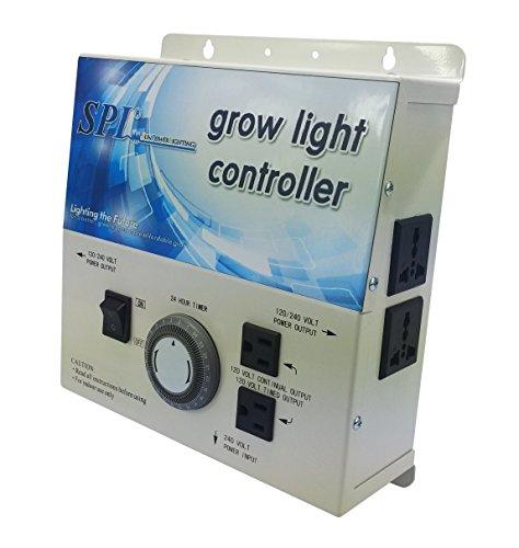 Cheap SPL 4-plug Grow Light Controller System with Timer 120 240 Volt