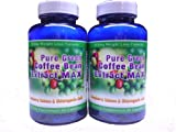 Pure Green Coffee Bean Extract Max ~ Strongest Diet Pill ~ 910mg Weight Loss Formula ~ Green Coffee Bean Extract 800mg ~ 100mg Raspberry Ketones ~ Downloadable FOOD JOURNAL Included ~ Contains up to 45% to 50% Chlorogenic Acid ~ 2 Month Supply review
