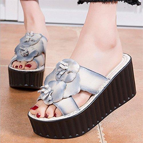 Zapatillas y sandalias de verano Lady con pastel de pino 3