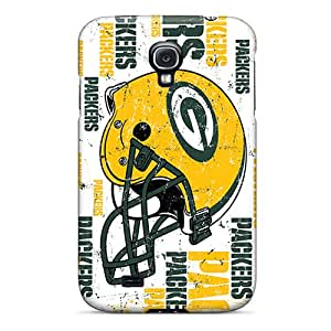 YlT750YDZU Ercox Green Bay Packers Durable Galaxy S4 Tpu Flexible Soft Case