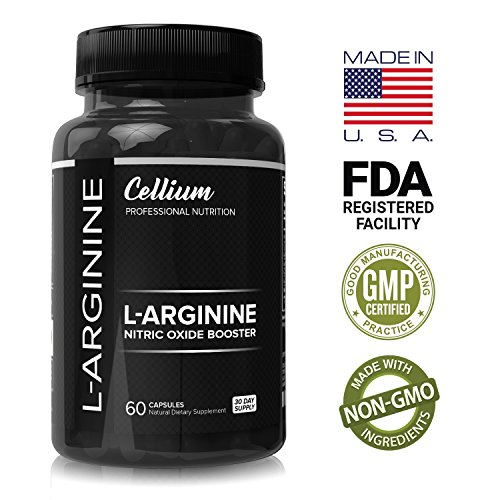 Pre Workout Supplement – INCREASE Muscle Mass, RECOVER Faster & ENHANCE Energy with L Arginine Nitric Oxide Booster, Essential Amino Acids with L Arginine for Men & Women