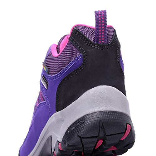 The First Outdoor Women's Breathable Hiking Shoe Purple outlet 2014 professional cheap online Fbpg6Da0e