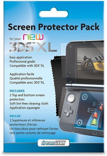 Screen Protector Pack For your 3DS XL