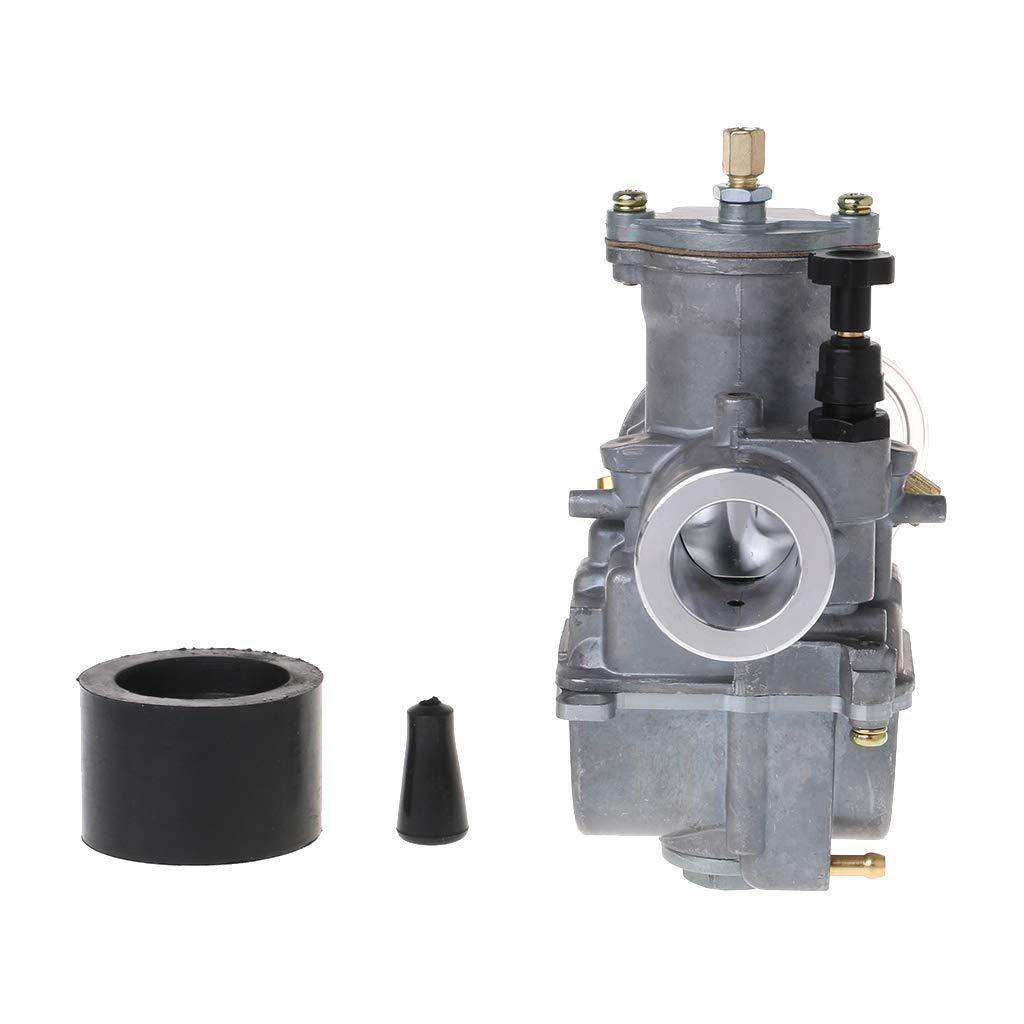 Carburador universal para motocicleta de 21 mm compatible con Keihin Carb PWK Mikuni con Power Jet