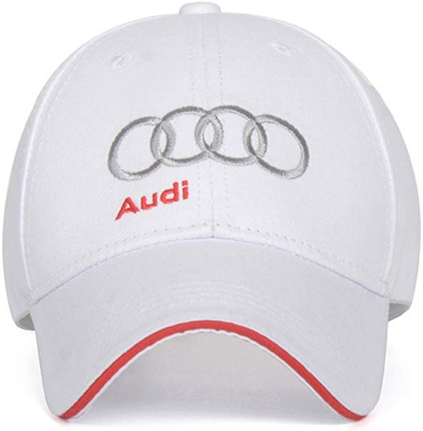 Wall Stickz BearFire Logo Embroidered White Color Adjustable Baseball Caps for Men and Women Hat Travel Cap Racing Motor Hat fit amg