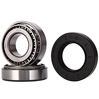XiKe 1 Set Fits for 25mm Axles Trailer Wheel Hub Bearings Kit, 30205  Bearings and Seal TC 30x52x10mm, Rotary Quiet High Speed and Durable for  Tapered