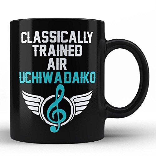 - Classically Trained Uchiwa-daiko Player Best Birthday Anniversary Graduation Gift for Honoring Uchiwa-daiko Instrument Player White Coffee Mug By HOM