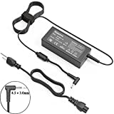 45W 19.5V 2.31A AC Adapter Laptop Charger for HP Spectre X360 Stream 11 13 14 Split 13 X2 pavilion 11 13 15 Elitebook Folio 1040 G1G2 G3 with 4.5*3.0mm Connector(Bimawen)