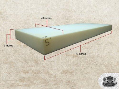 Medium Density 5'' X 40'' X 72'' Foam Sheet