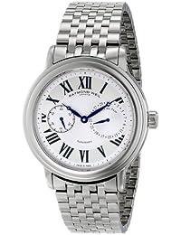 """Men's 2846-ST-00659 """"Maestro"""" Stainless Steel Watch"""