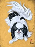 Caroline's Treasures MH1034GF Japanese Chin Black White Play Flag, Small, Multicolor Review