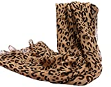 Fashion Leopard 100% Silk Long Scarf Wraps Lightweight Sunscreen Shawl Scarves for Women 98'' X 25''