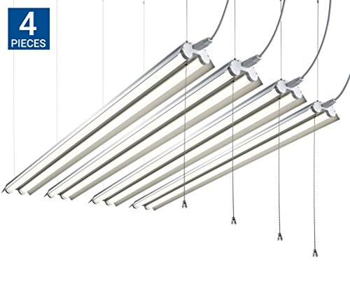 uk availability 1050b 587fb Hyperikon Linkable LED Shop Light 4FT Double Tube 40W (100W - Import It All