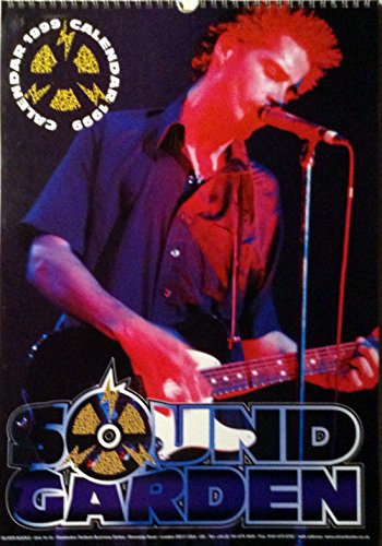 1999 Soundgarden Chris Cornell Calendar - Unopened Brand New Collectible Shrink-wrapped BIG - Binding Shrink Wrapped