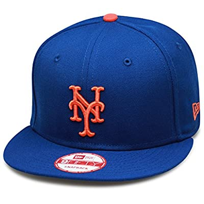 New Era 9fifty New York Mets Snapback Hat Cap MLB All Royal/Orange